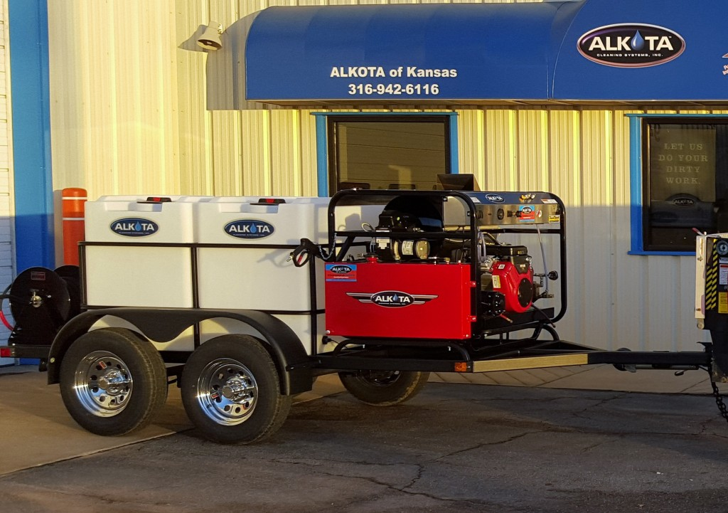 ALKOTA 5305A Tandem Axle Trailer Unit